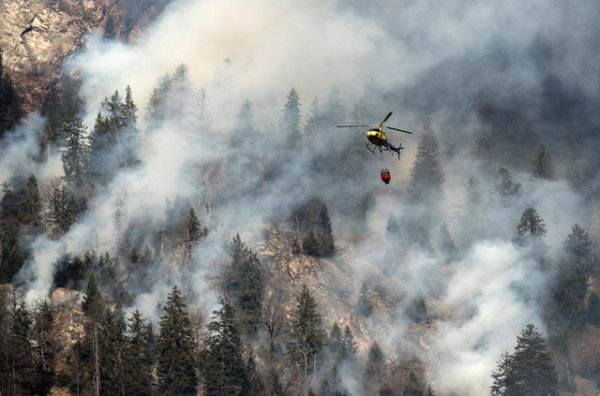 Écologie  Écologie  Gare au risque d'incendie dans les Grisons