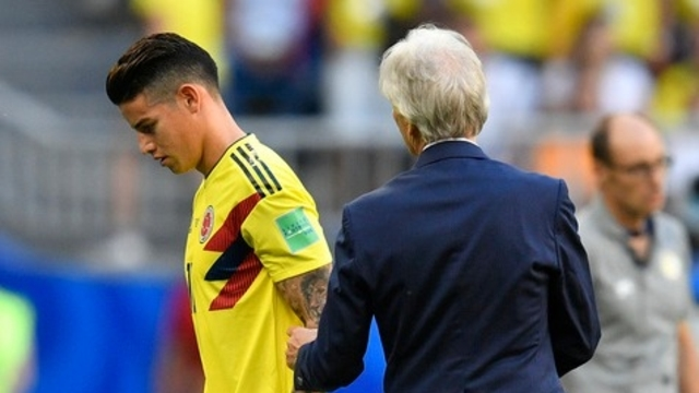 News News Penalty annulé, James Rodriguez blessé