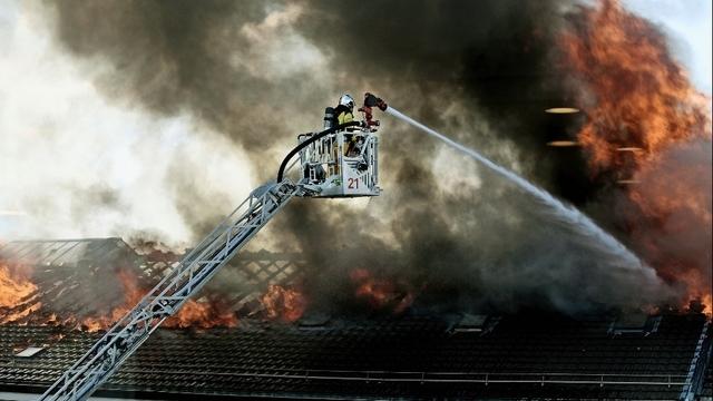 News News Genève: l'église du Sacré-Cœur ravagée par le feu
