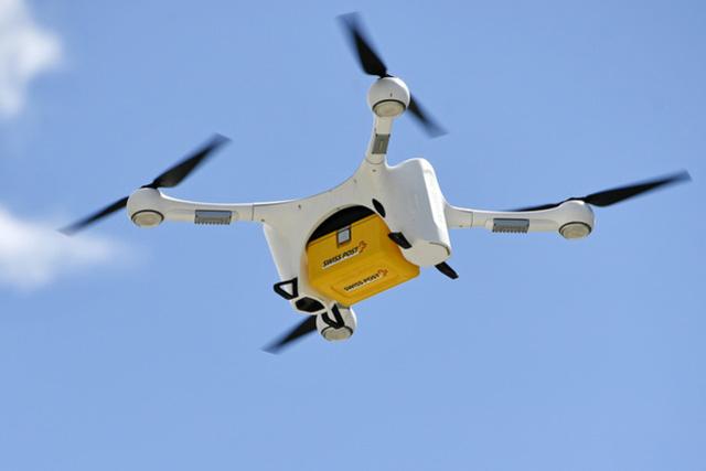 News News Les drones de la Poste peuvent reprendre leur envol