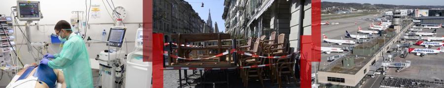 News News Les mesures contre le coronavirus prolongées jusqu'au 26 avril en Suisse