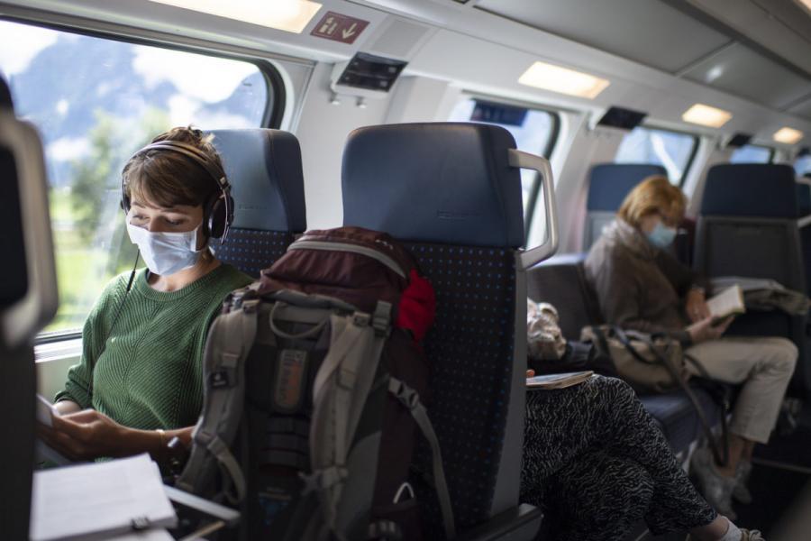 Sante Sante Masques obligatoires dans les transports publics en Suisse dès lundi