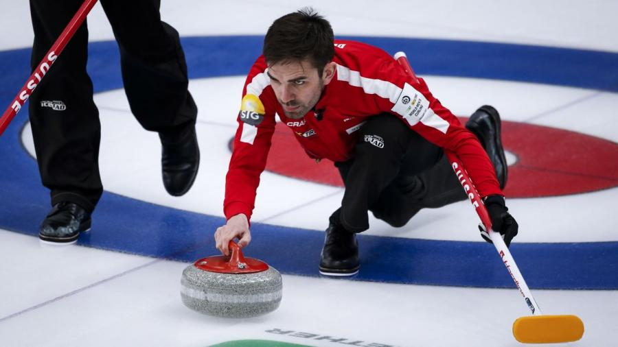 Curling: la Suisse n'a plus son destin en main